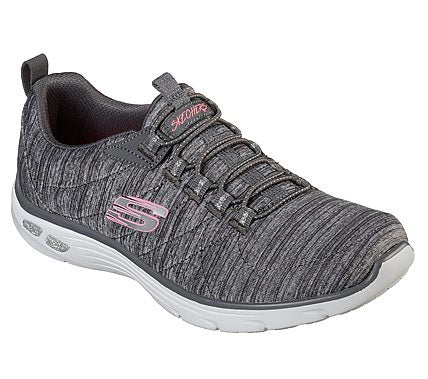 Skechers Ladies 12820 Empire Grey Trainers