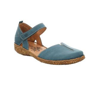 Josef Seibel Rosalie 42 Azur Blue Ladies Leather Sandals - elevate your sole