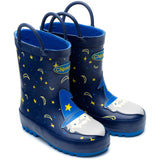 Chipmunk Merlin Navy Wizard Wellies