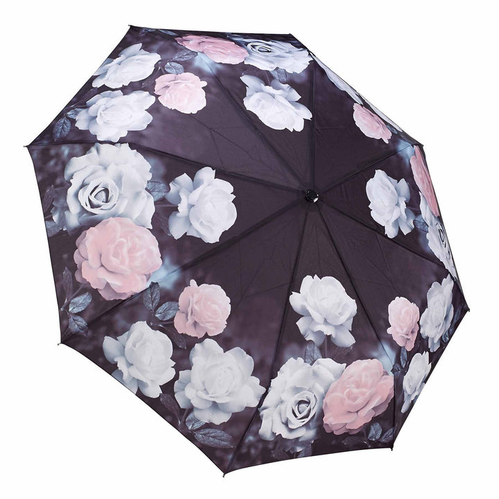Galleria Vintage Roses Folding Brolly - elevate your sole