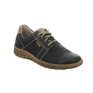 Josef Seibel Steffi 59 Ocean Kombi Leather Lace Up Shoes - elevate your sole