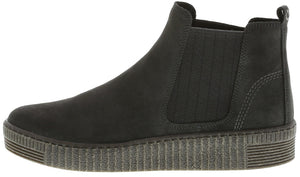 Gabor 93.731.19 Grey Ladies Suede Chelsea Boot