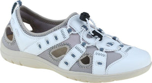 Earth Spirit 30215 Winona White Leather And Mesh Ladies Casual Shoe