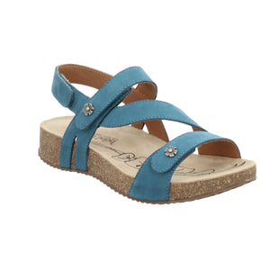 Josef Seibel Tonga 53 Azur Blue Strap Sandals - elevate your sole