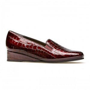 Van Dal Rochester II Garnet Red Patent Leather Shoes