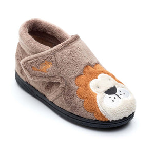Chipmunk Lionel Childrens Brown Lion Slippers
