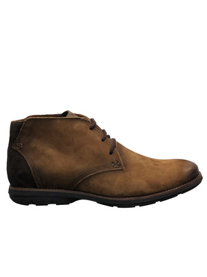 Savelli 1100 Mens Nubuck Tan Lace Up Ankle Boot