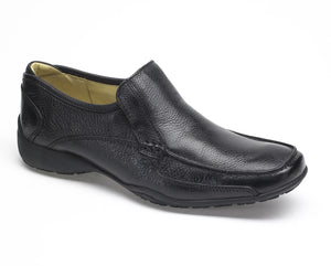 Anatomic Parati Black Leather Men's Slip On Shoe - elevate your sole