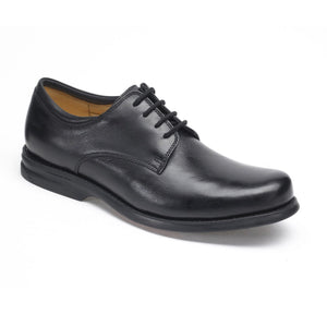 Anatomic Niteroi Mens Black Leather Lace Up Shoes