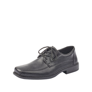 Rieker B0831-00 Mens Black Smart Lace Up Shoes