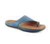Strive Capri Ladies Ocean Leather Toe Post Sandals