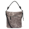 Rieker H1358-46 Ladies Smoke And Black Handbag