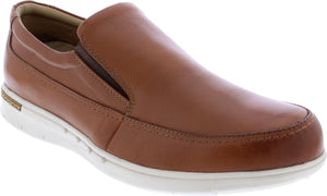 Country Jack 9688 Henry Mens Tan Leather Slip On Shoes