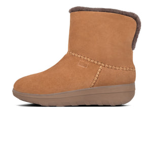 Fitflop Y88-047 Mukluk Shorty III Ladies Suede Chestnut Ankle Boot