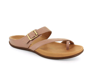 Strive Nusa Ladies Dusty Pink Leather Sandals