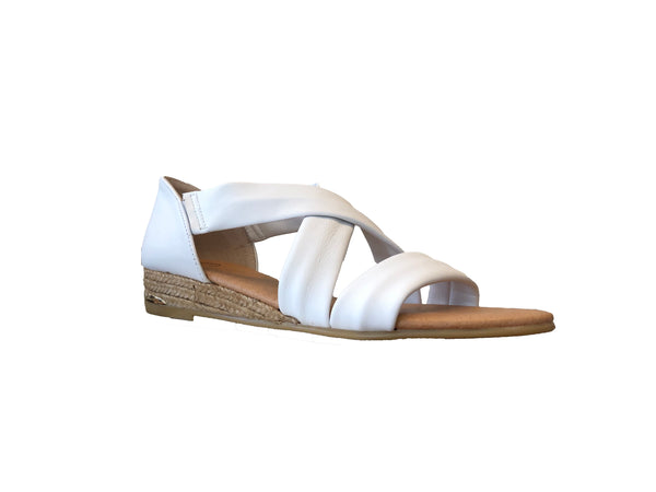 White Espadrille Zara Pinaz Sandals Leather Ao 317 8vNOmnw0