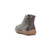Remonte R4779-52 Ladies Green Leather Lace Up and Side Zip Ankle Boots