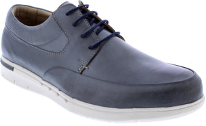 Country Jack 9699 Rory Mens Grey Leather Lace Up Shoes