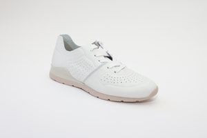 Maria Lya 277301 Ladies White Leather Trainers