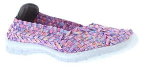 Adesso Lolly A4887 Candy Mix Elasticated Full Slip On Shoe - elevate your sole