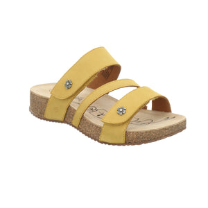 Josef Seibel Tonga 54 Safran Yellow Stap Sandals - elevate your sole