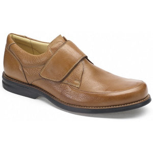 Anatomic 454540 Tapajos Cognac Toast Leather Hook and Loop Strap Shoe