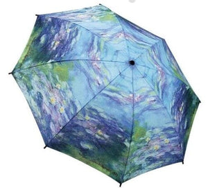 Galleria 30201 Monet Water Lillies Folding Umbrella