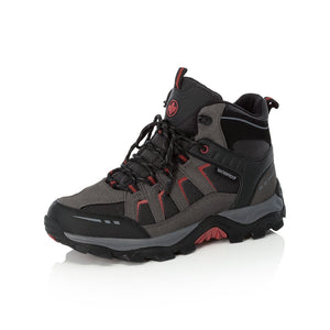 Rieker F8820-00 Mens Black Lace Up Walking Boot