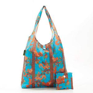 Eco Chic A21 Squirrel Blue Recycled Plastic Shopper