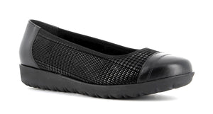 Alpina Vali H 8915-8 Black Stretch Ballerina Shoes - elevate your sole