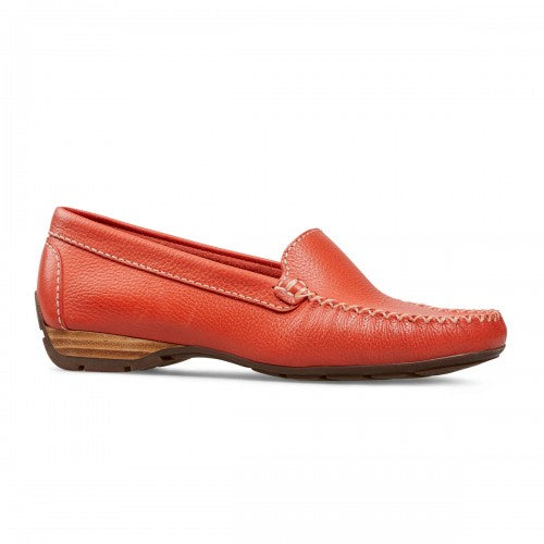 Van Dal Sanson Paprika Leather Loafer Shoes