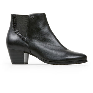 Van Dal Swanton 3179 Ladies 1001 Black Leather Heeled Ankle Boots E