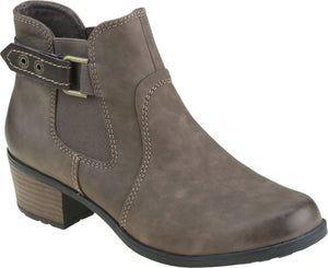 Earth Spirit El Reno Ladies Stone Leather Ankle Boots