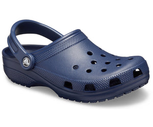 Crocs Classic 10001 Unisex Navy Roomy Fit Clog
