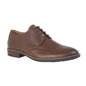Lotus Jackson Brown Leather Dress Shoes - elevate your sole