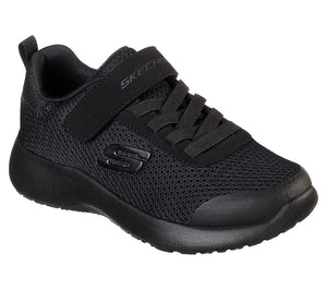 Skechers 97770L Dynamight Ultra Torque Boys Black Trainers