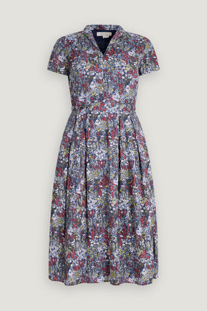 Seasalt Top Terrace Dress Ladies Painterly Planting Mix