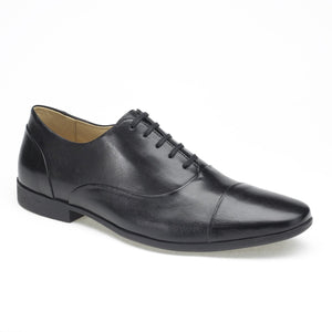 Anatomic Alvares Black Leather Dress Shoes - elevate your sole