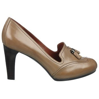 Naturalizer Nation Truffle Taupe Leather Shoes