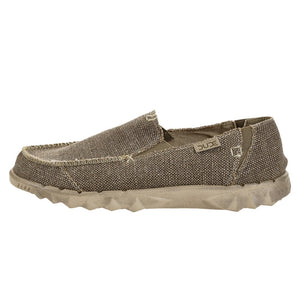 Dude Farty Natural Mens Tundra Beige Braided Slip On Shoes