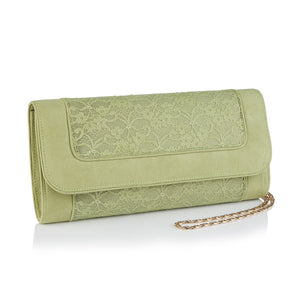 Ruby Shoo Tirana Pistachio Clutch Bag