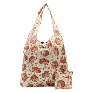 Eco Chic A32 Hedgehog Beige Recycled Plastic Shopper