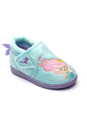 Chipmunk Maisie Girls Aqua Mermaid Slippers