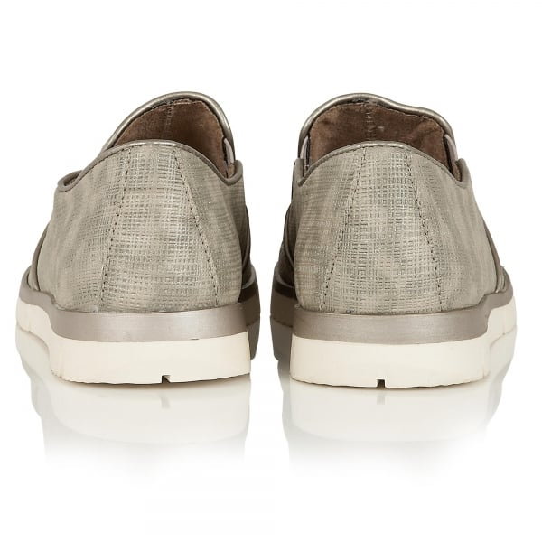 Lotus Relife Lucia Pewter Casual Summer Shoes - elevate your sole