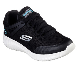 Skechers 97893L Elite Flex Hydropulse Boys Black Trainers