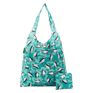 Eco Chic A32 Puffin Teal Recycled Plastic Shopper
