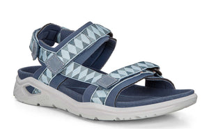 Ecco 880623 Tome Marine Fabric Walking Sandals - elevate your sole
