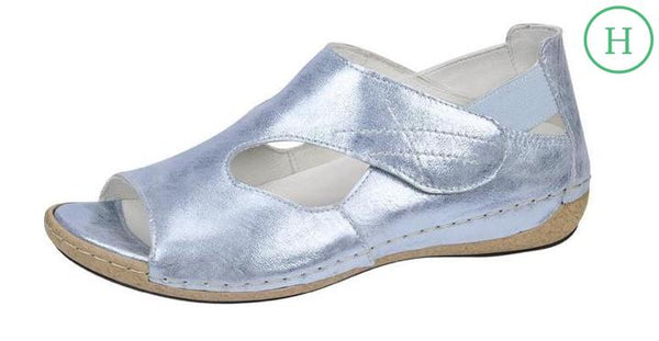 Waldlaufer 342004 127 267 - Heliett back in sandal - sky blue metallic