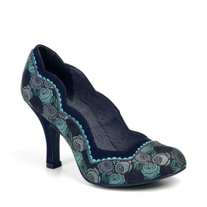 Ruby Shoo Madison Blue Court Shoes - elevate your sole