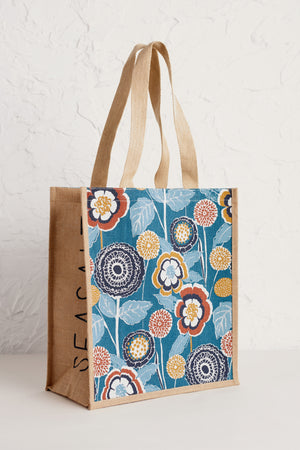 Seasalt Jute Shopper Garden Swell Bag